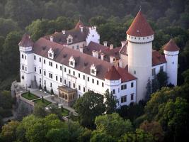 Famous Castle Konopiste
