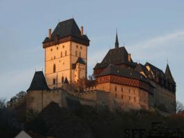 Famous Castle Karlstejn