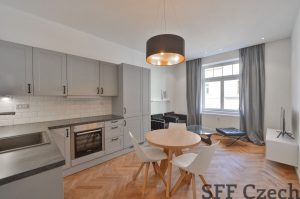 Holeckova furnished 2 bedroom flat Prague 5