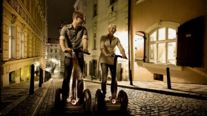 Prague by Night on Segway