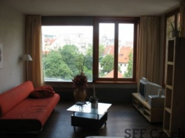 Vodickova 1 bedroom apartment for rent in Prague