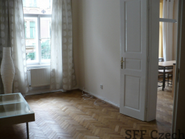 Fully furnished apartment at Manesova in Prague 2