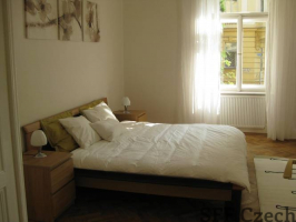 2 bedroom furnished apartment Prague 2, Manesova