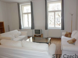 Belgicka, Prague 2 apartment for rent Vinohrady