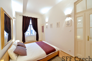 Furnished luxury 2 bedroom flat Prague 2, Manesova