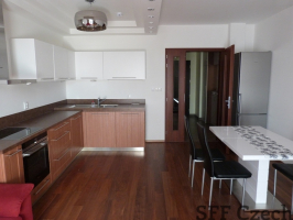 New modern furnished flat next to Andel Prague 5