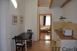 Fully furnished flat to rent next metro Prague 8