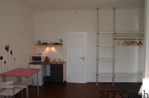 Furnished apartment 1+kk Prague 8 Liben