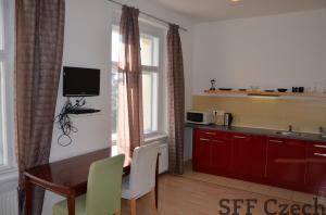 Furnished 1+kk apartment for long-term rent Prague 8