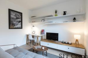 Modern furnished 2+kk flat close to Dejvicka