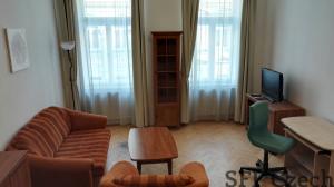 Fully furnished studio Prague 2 Zahrebska