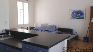 1 bedroom furnished flat close Andel Kavalirka