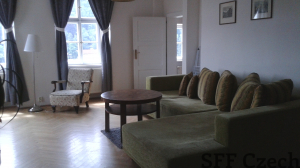 Fully furnished flat next Prague Castle Uvoz