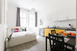 Fully furnished flat 1+kk Prague 3 Vita Nejedleho