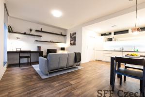 Modern furnished apartment Prague 6 Podbaba