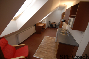 Cheap furnished apartment Suchdol 2+1