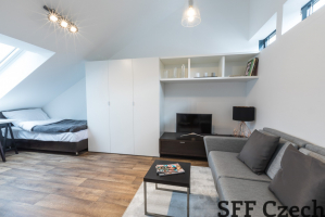 Very nice furnished apartment Prague 6 Podbaba