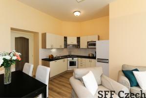 Furnished 2 bedroom apartment close Namesti Miru