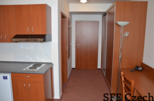 Cheap apartment 1+kk Suchdol close Dejvice