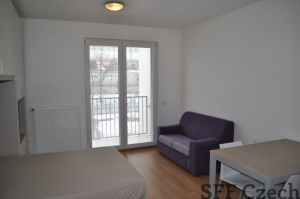 Modern furnished studio Karlin close center of Prague