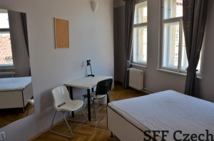 Nice furnished room to rent center Prague