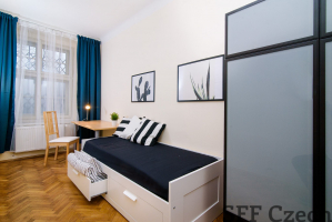 Nice furnished room to rent next metro Vltavska