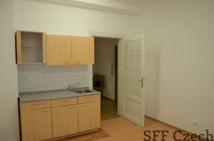 Nice cheap apartment 1+1 in Prague 10 Omska
