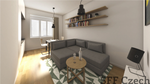 New modern fully furnished apartment in Prague 6