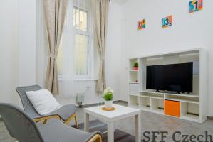 Fully furnished studio in Prague 4 close center