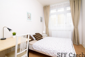 Furnished room in apartment Karlin next center