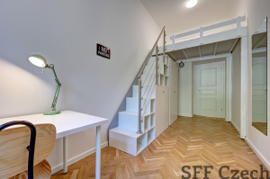 Nice modern fully furnished room to rent Prague