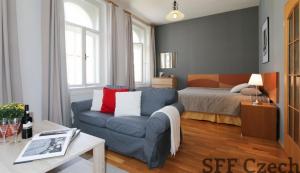 Furnished flat to rent Sazavska Vinohrady Prague 2
