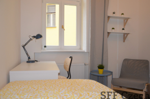 Fully furnished room for rent in Prague 3 Zizkov