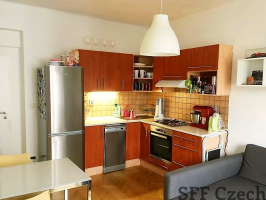 Furnished apartment in Prague 8 metro Palmovka