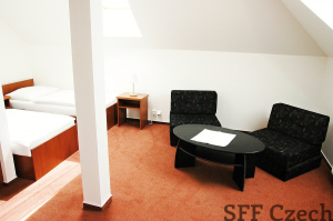 Suchdol furnished studio to rent Prague 6