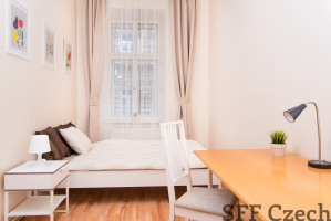 Furnished room to rent in Andel close center Prague