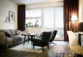 Modern studio with terrace to rent Prague 8 Dablice