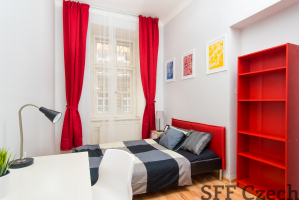 Furnished room for rent Praha 5 next to metro Anděl