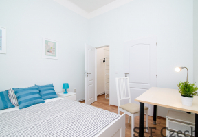 Furnished room for rent Prague 8 Karlin close to metro Florenc