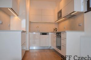 Modern furnished 1 bedroom apartment for rent in new building Prague 4 Háje