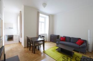 Modern, furnished apartment 2+1 for rent, Prague 2 Vyšehrad