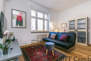 Furnished 1 bedroom apartment to rent in Prague 6 by metro Dejvicka