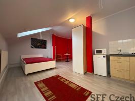 Furnished studio flat to rent Prague 3 - Žižkov close to Florenc and center