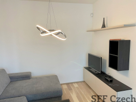 New modern furnished apartment 2+kk to rent in Harfa Design Residence