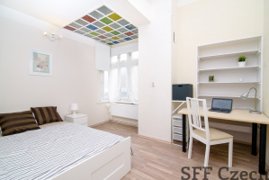 Furnished private room for rent Prague 8 - Karlín, close to Florenc