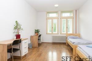 Pronájem zařízeného bytu 1+1, Praha 5 - Nový Smíchov