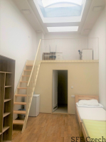 Private large room with bathroom to rent, Praha 5 - Smíchov