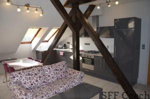 Fully furnished 2 bedroom apartment to rent Prague 2-Nové město, close to center