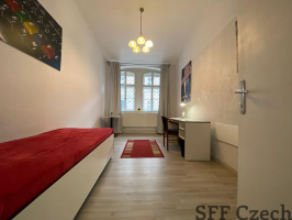 Furnished student flat 1+1 for rent Prague 3 close to center