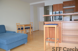 Furnished 1 bedroom apartment to rent Holesovice Prague 7
